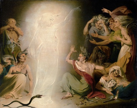John Downman; The Ghost of Clytemnestra Awakening the Furies, 1781