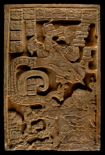 Mayan glyphs depict the 13th Baktun on 12/21/12