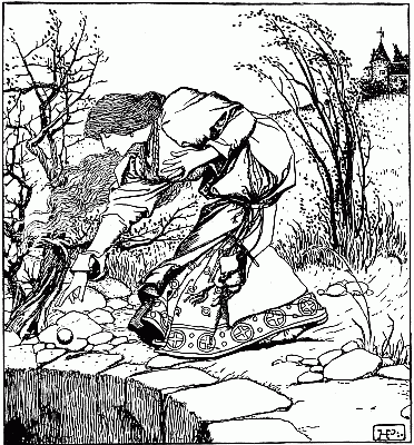 Howard Pyle illustration from 'The Wonder Clock'