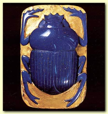 Ptolemaic scarab
