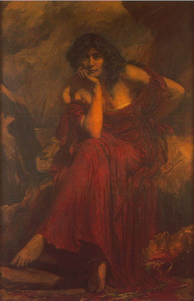 Ceridwen by Christopher Williams (1910)